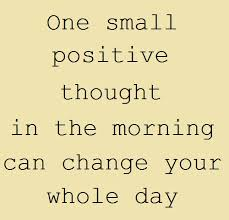 positive morning